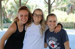 Madison, Tessa, and Lindsay