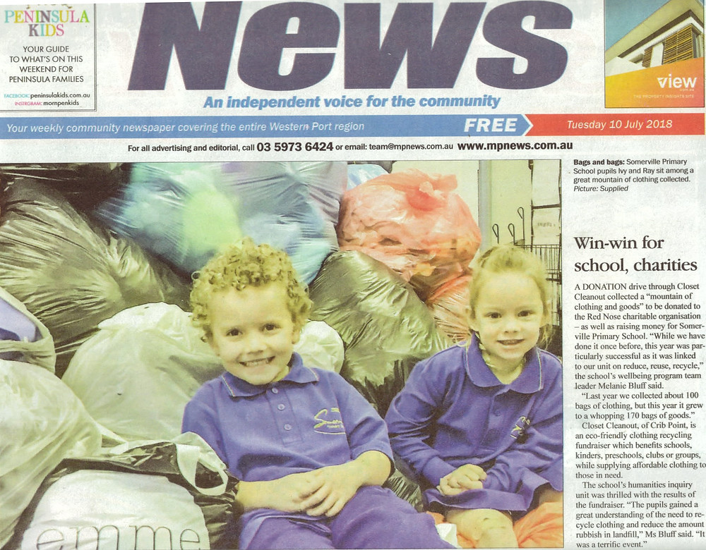 Somerville Primary School Closet Cleanout Fundraiser Westernport News