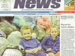 Somerville Primary & Closet Cleanout in the news!