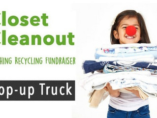 Pop-up Trucks - a Brand New Way to Recycle AND Raise Funds