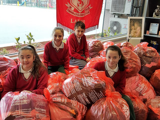 St Luke's Students See Red