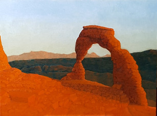 Delicate Arch, 2017-29. £1,150. Unframed. SOLD