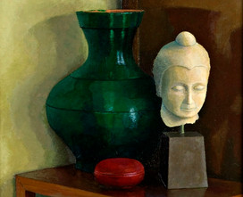 Pot, Head. Giglee print. £40, unframed.