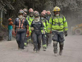 Fire Station Rescues and Serves Fuego Survivors