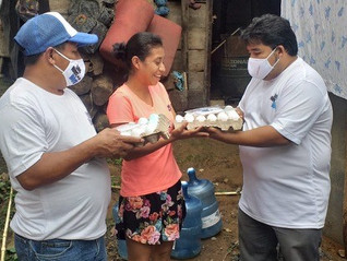 Guatemalan Partners Help with Hunger Relief Efforts