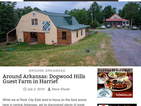 Rock City Eats Comes To The Farm