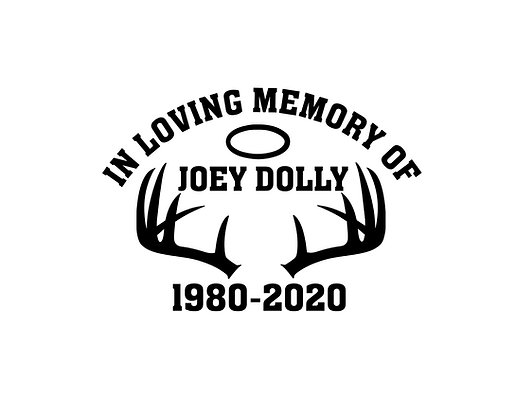 Joey Dolly Memorial Decal