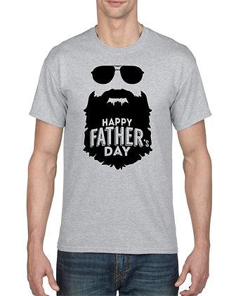 Happy Father's Day Beard Tee Shirt