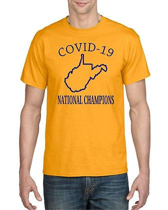 COVID-19 West Virginia Champion Tee Shirt
