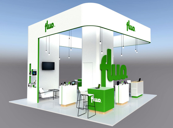 STAND FLUO