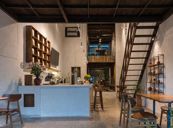 CAFETERÍA ADIUVAT,  INTERIOR DE LA CAFETERÍA