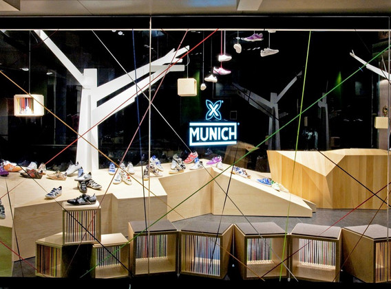 TIENDA RETAIL Munich L'illa