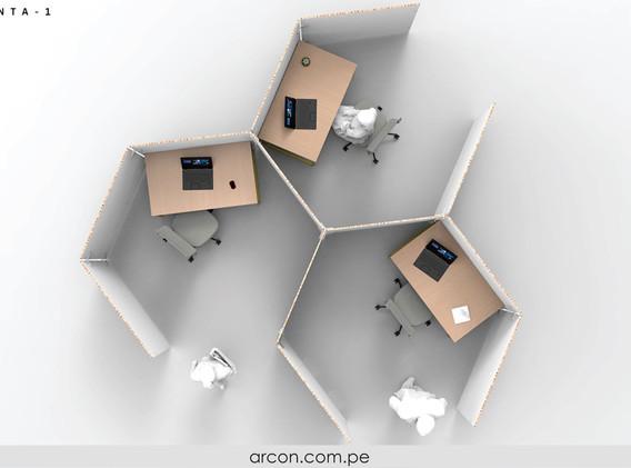 Separadores de Oficinas