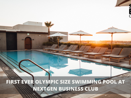First Ever Olympic Size Swimming Pool at Odelia Business Club
