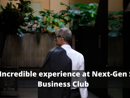 Get Incredible experience at Next-Gen Sky Business Club