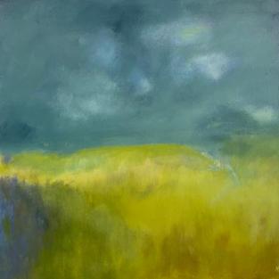 """Summer Skies""  Acrylic on Canvas, 500 x 500 mm"