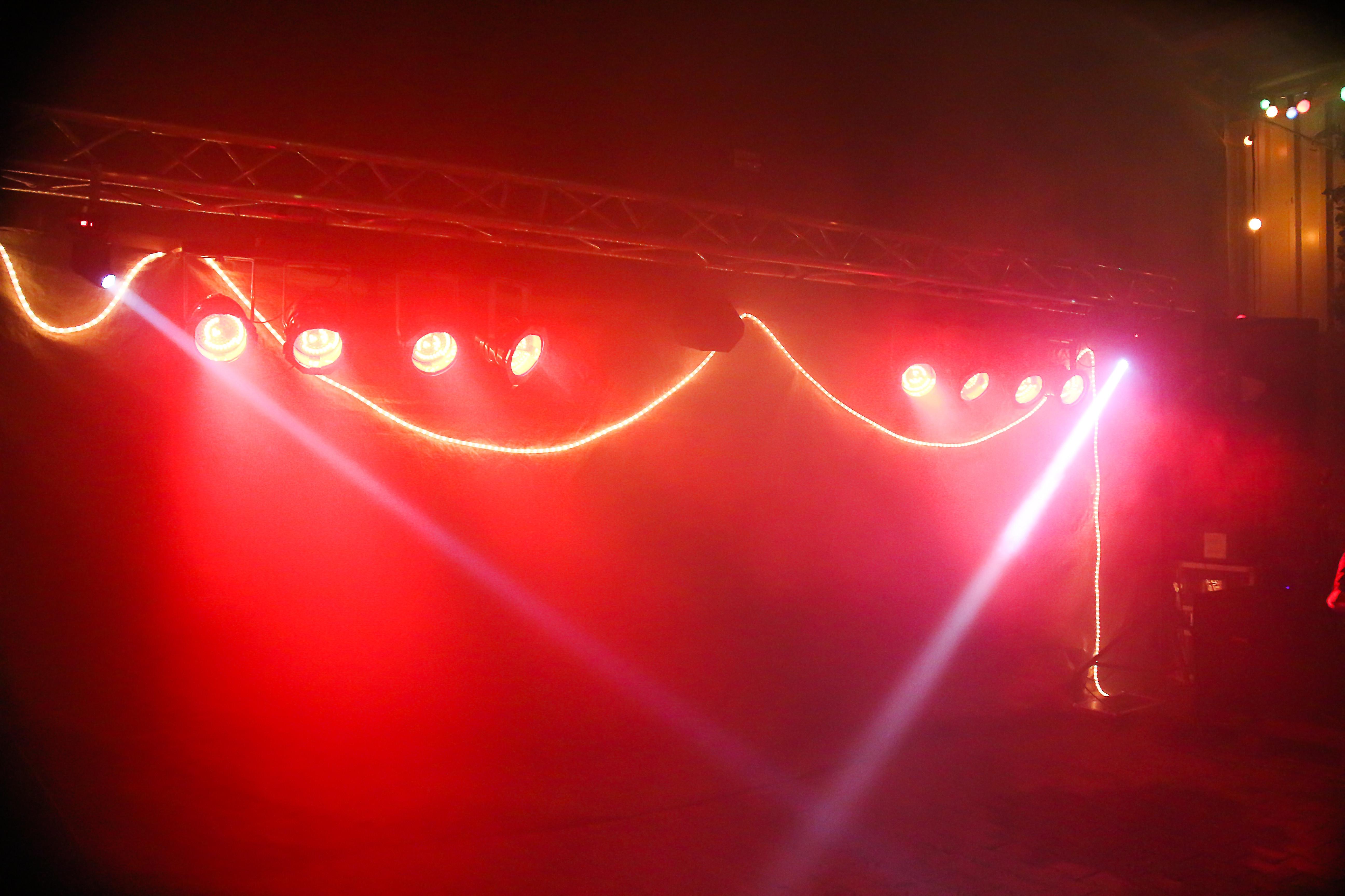 Ton und Licht für deine Party