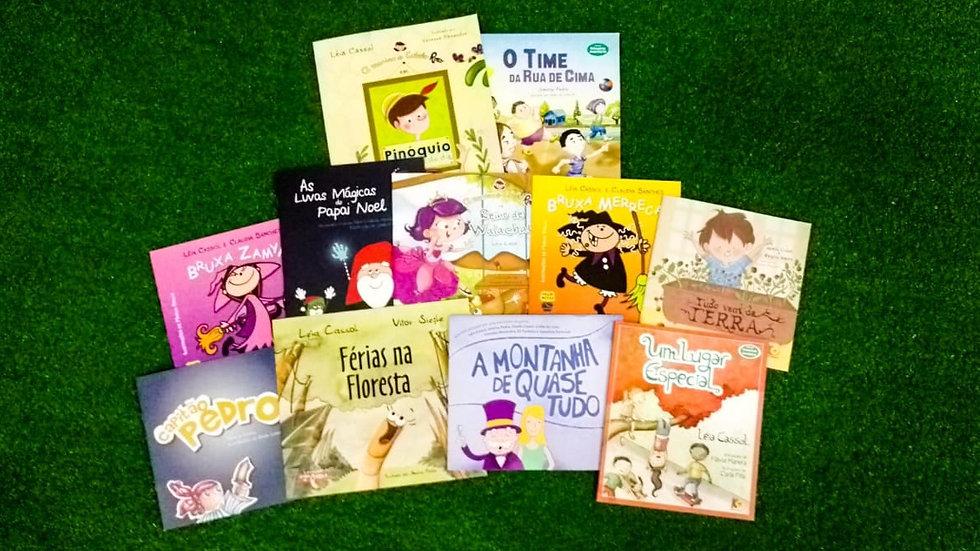 KIT TV Cassol 2 - 11 livros - indicado para 4 - 8 anos