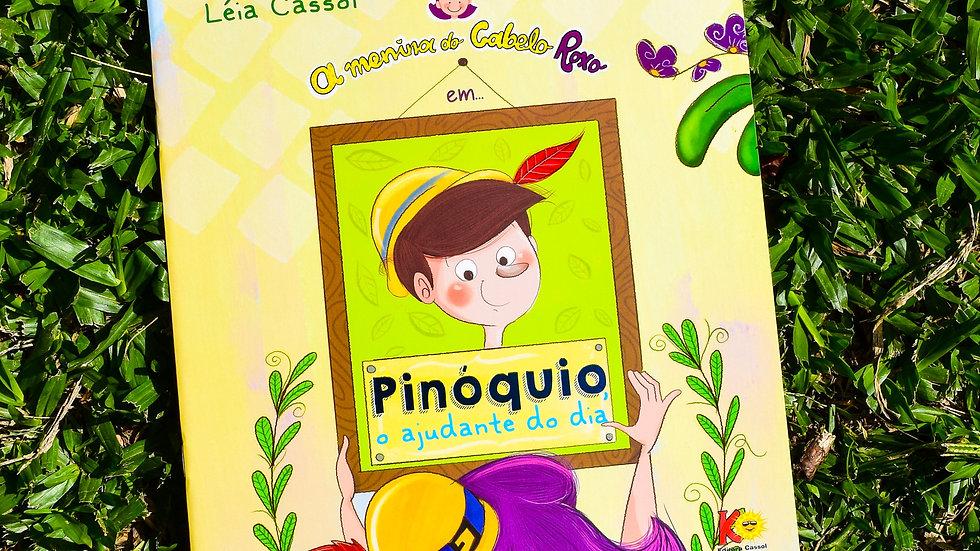 A Menina do Cabelo Roxo em: Pinóquio, o ajudante do dia