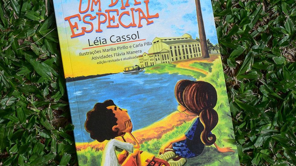 capa do livro um dia especial leia cassol