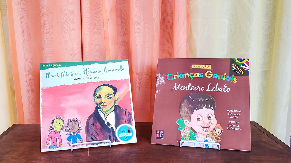 Kit Mari Miró e Crianças Geniais (2 Livros)