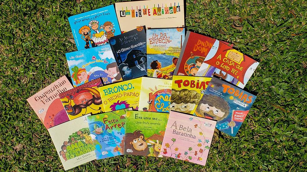 Kit TV Cassol - 17 livros -  indicado para 3 - 10 anos