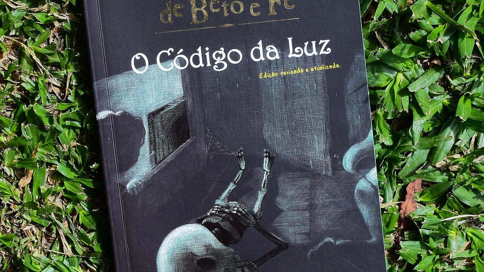 capa do livro s aventuras de beto e fe o codigo da luz leia cassol