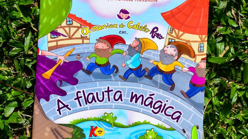 A Menina do Cabelo Roxo em: A Flauta Mágica