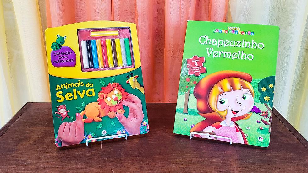 """""""Kit Aprenda a Modelar + Livro Quebra-Cabeça"""" (2 Livros)"""