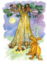 Ana a familia e o baoba