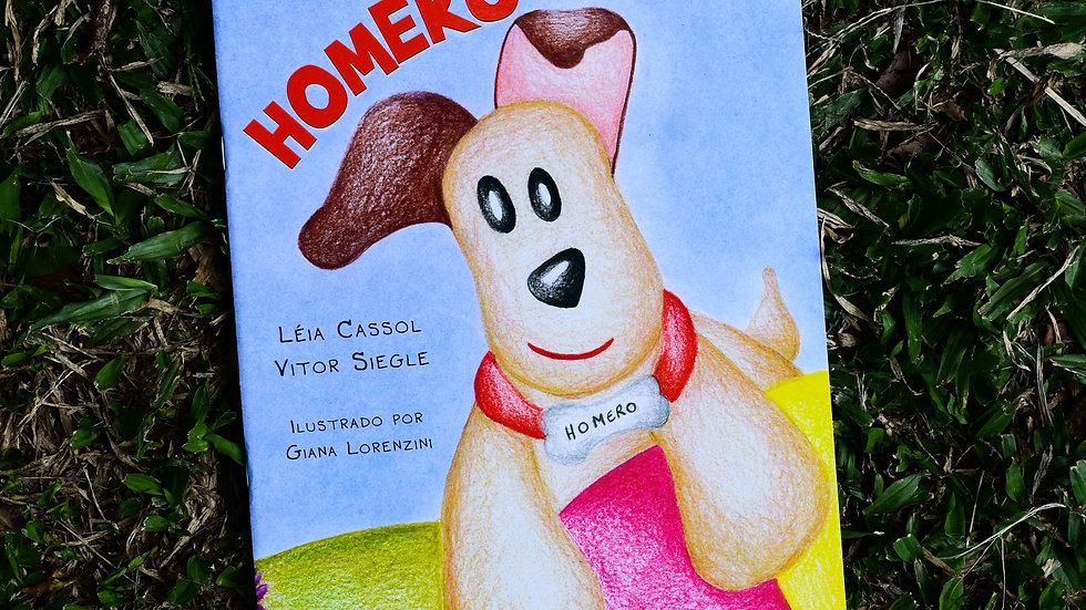 capa do livro homero leia cassol