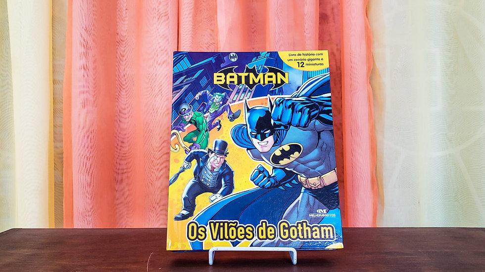 """Livro com Miniaturas """"Batman - Os Vilões de Gotham"""""""