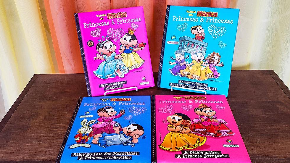 """Coleção """"Princesas e Princesas - Turma da Mônica"""""""
