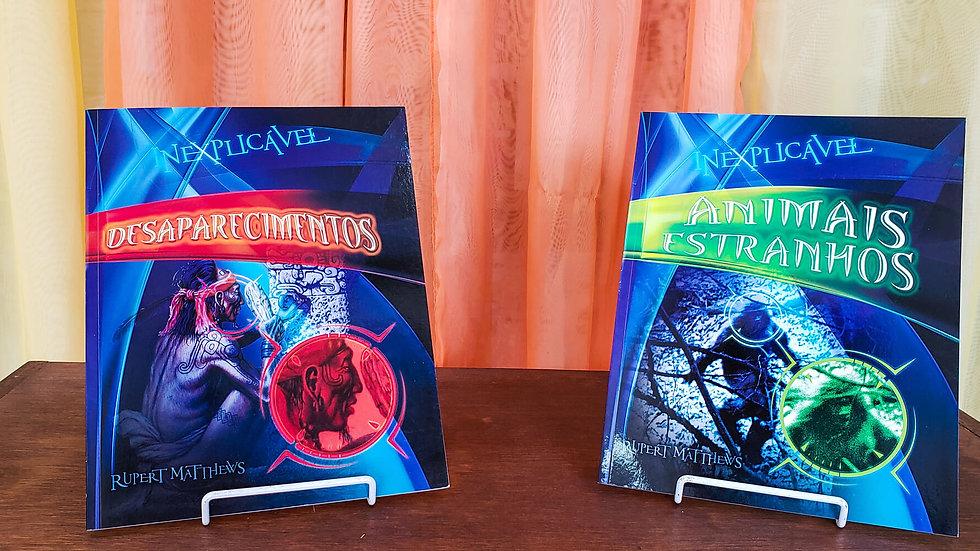 Coleção Inexplicável - 2 Livros