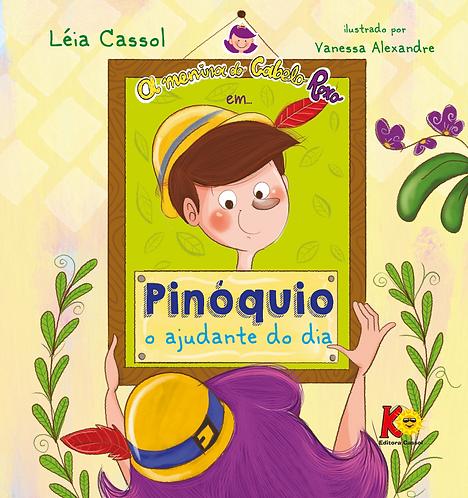 A Menina do Cabelo Roxo em Pinóquio: o ajudante do dia