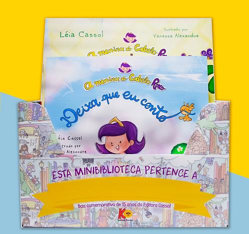 BOX - Coleção Menina do Cabelo Roxo - 11 Livros