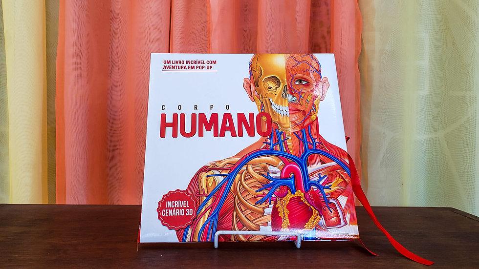 """Livro Pop-Up """"Corpo Humano - Um Incrível Cenário 3D"""""""