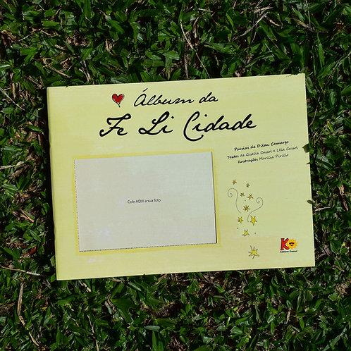 capa do livro album da fe li cidade dilan camargo e leia cassol