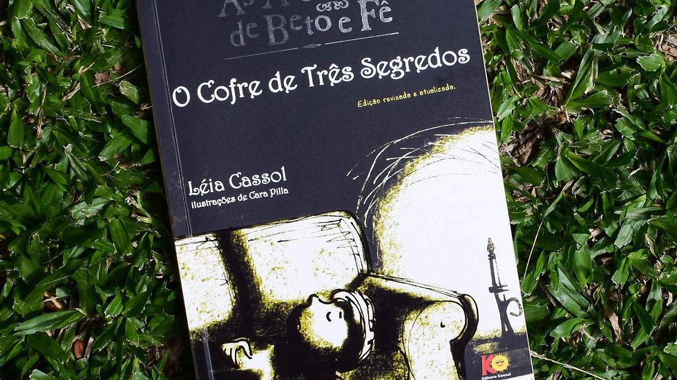 capa do livro as aventuras de beto e fe o cofre de tres segredos leia cassol
