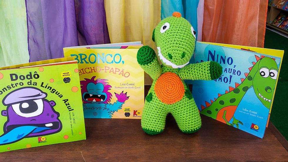 Boneco Nino (amigurumi 30cm) +Livro