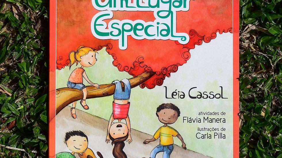 capa do livro um lugar especial leia cassol