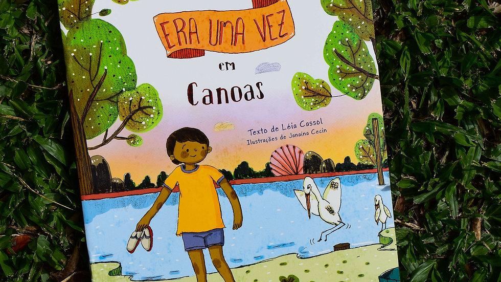 capa do livro era uma vez em canoas leia cassol