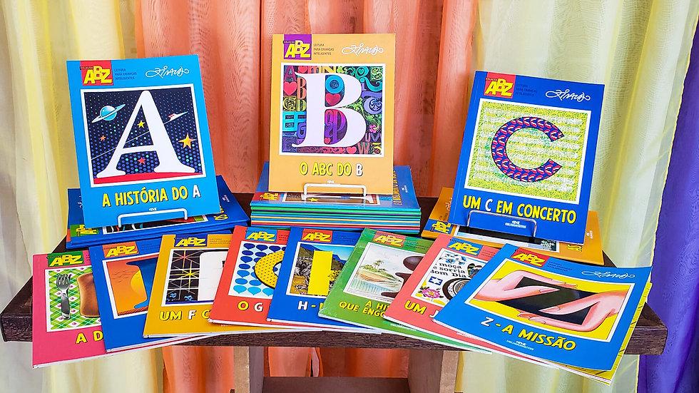 Coleção Abz Com 26 Volumes - Ziraldo