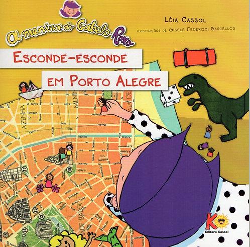 A Menina do Cabelo Roxo em Esconde-esconde em Porto Alegre