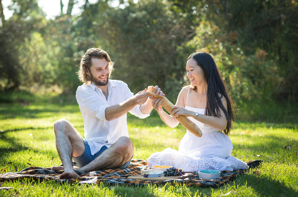 engagement photography in melbourne