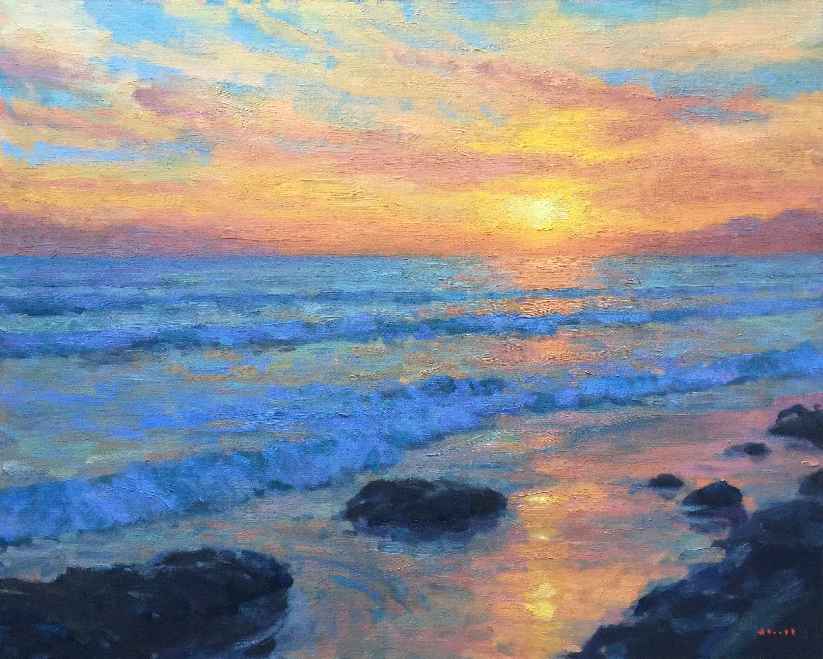 Pacific Glow (Sold) 24x30