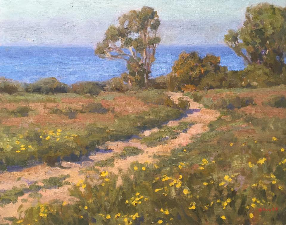 Bluff Path 16x20 (SOLD)