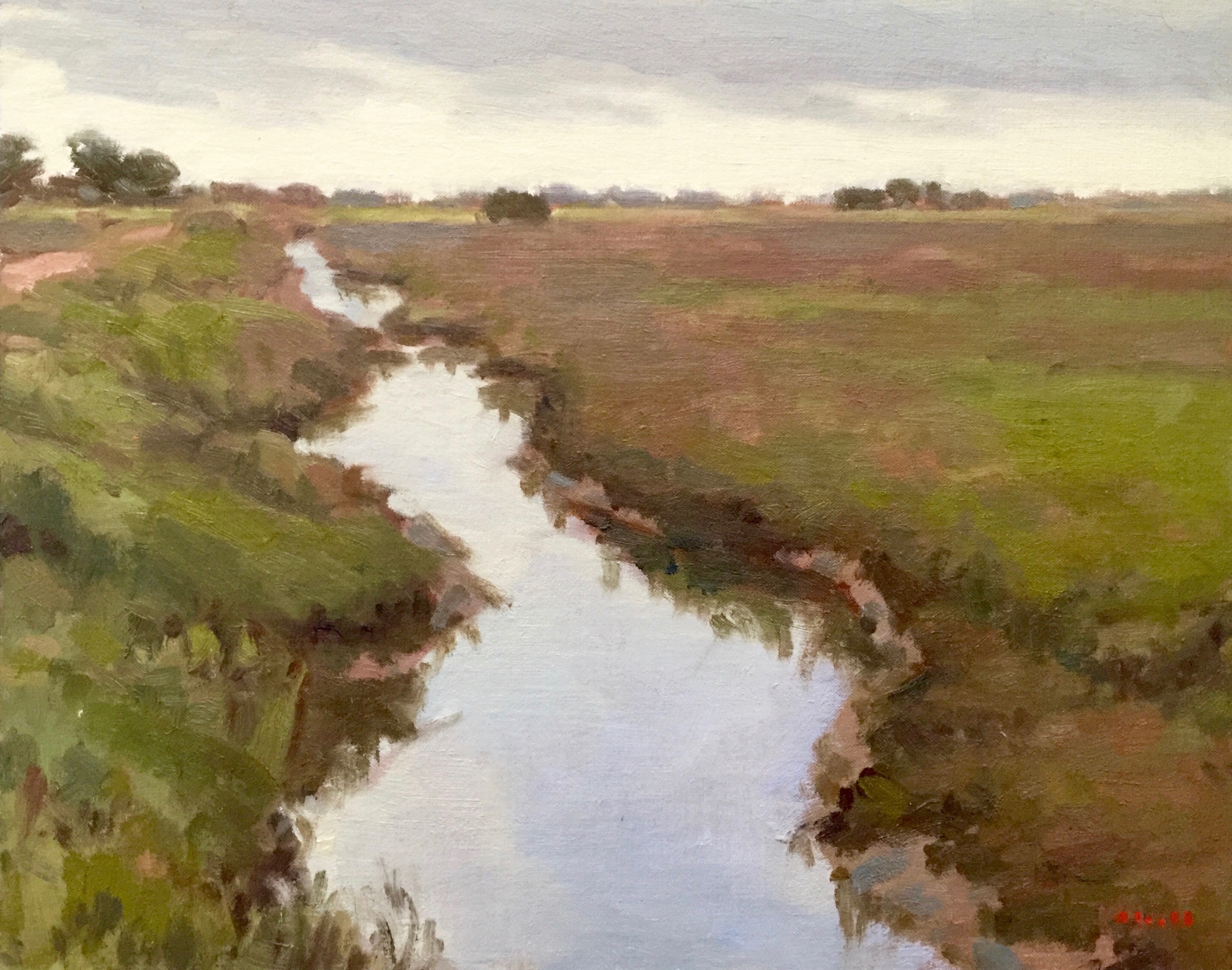 Carpinteria Slough 16x20