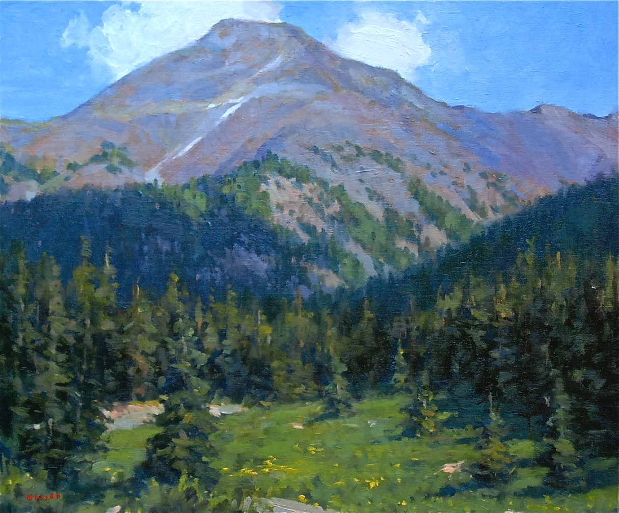 Mountain Meadow 20x24
