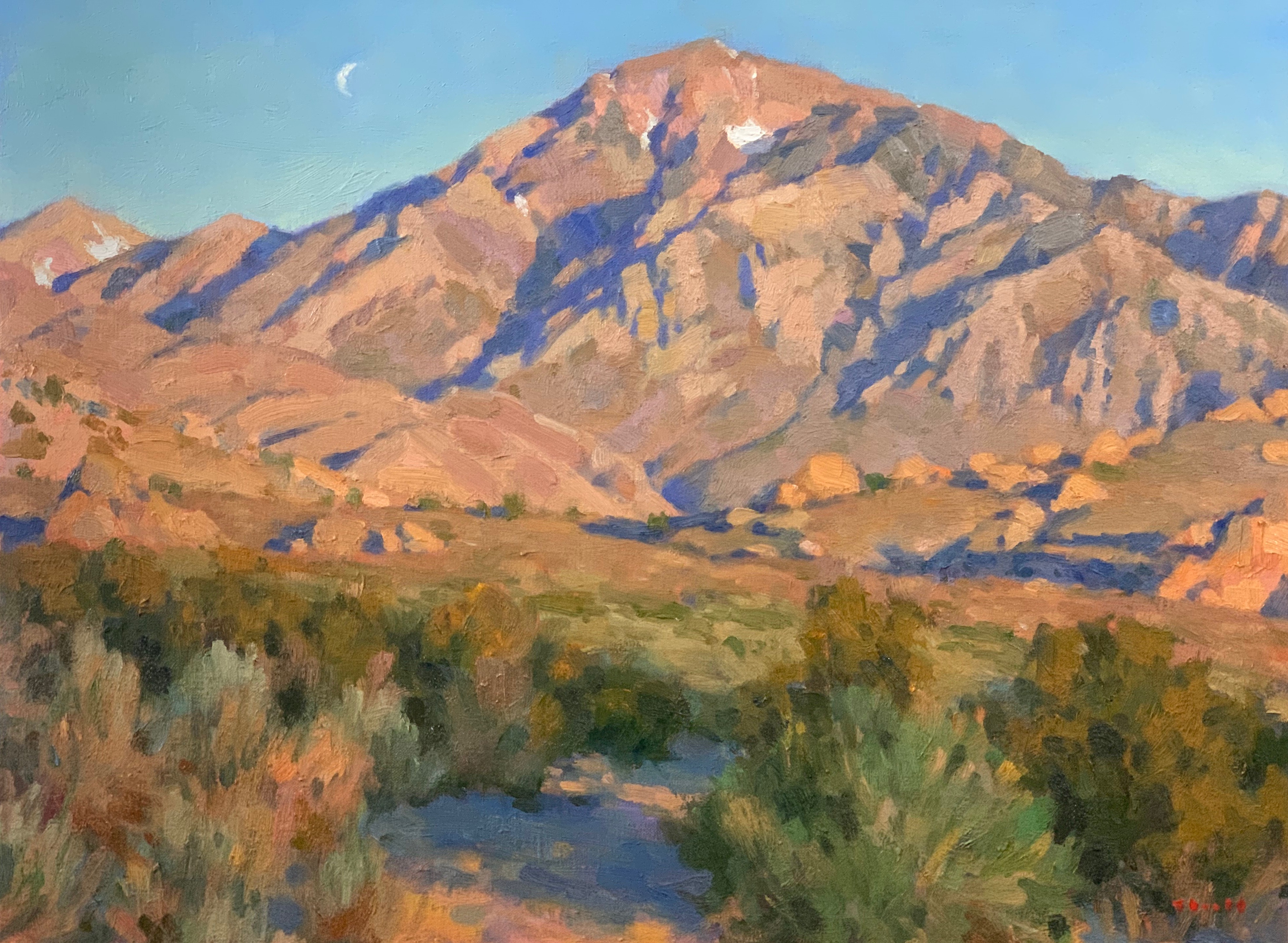 Mt. Tom Owens Valley 18x24